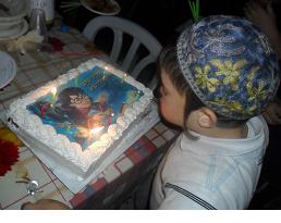 אין יום הולדת בלי עוגה