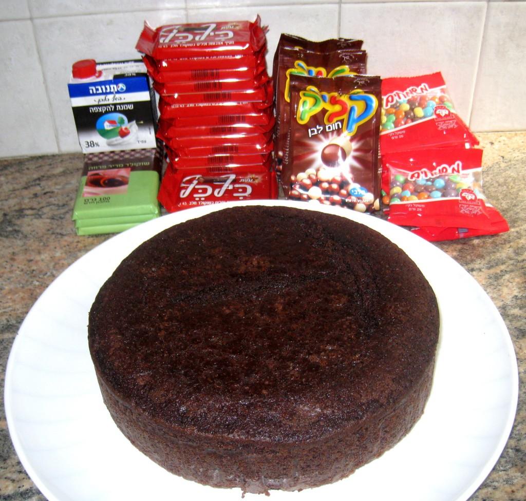 חומרים לעוגה