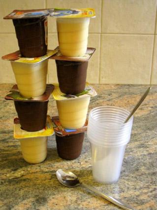 הכנת גלידה